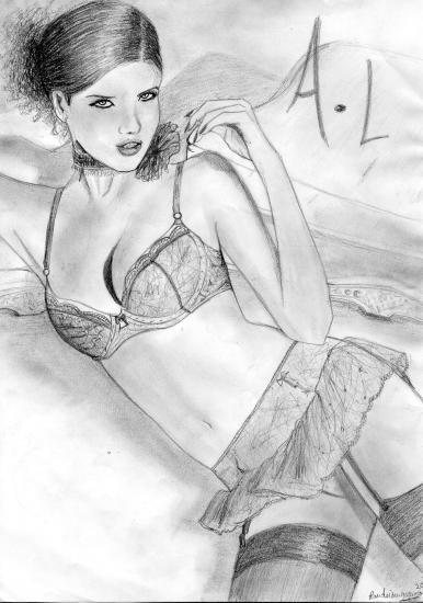 Adriana Lima by Cassiope